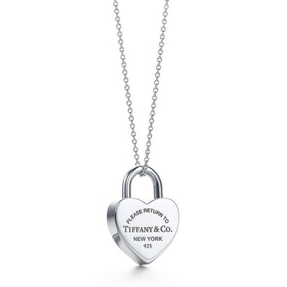 bbda25420 Tiffany & Co. Jewelry | Tiffany Co Return To Tiffany Heart Necklace ...